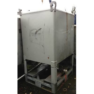 2 Containers inox GALLAY env. 1800 Litres